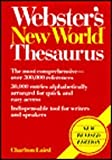 Webster's New World Thesaurus (0671604376) by Charlton Grant Laird