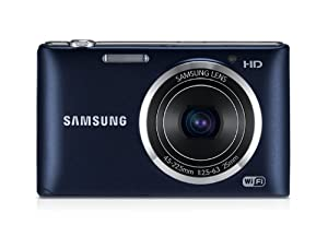 Samsung ST150F Smart-Digitalkamera (16,2 Megapixel, 5-fach opt. Zoom, 7,6 cm (3 Zoll) LCD-Display, bildstabilisiert, WiFi) schwarz