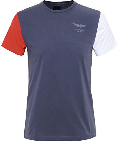 Hackett Aston Martin Racing Logo T-Shirt Gray M (Hackett Clothing compare prices)