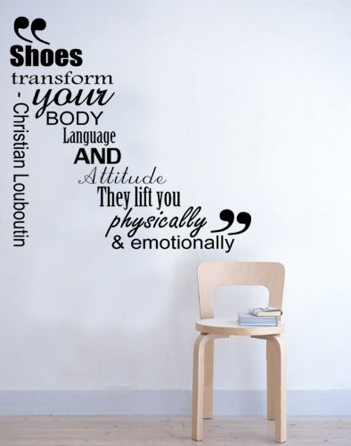 shoes-transform-your-body-christian-louboutin-wall-sticker-female-bedroom-quote