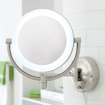 Cheapest 10X/1X Natural-Light Wall Mirror by Mair Production - Free Shipping Available