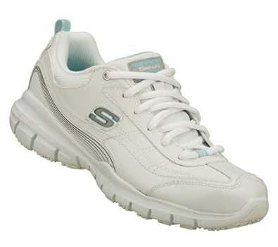 Skechers Tone Ups Work Liberate SR Slip Resistant Sneakers White 7
