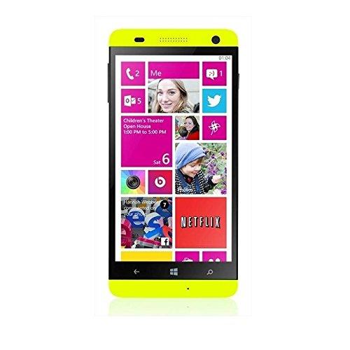 Kazam Thunder 450W Smartphone, 8 GB, Dual SIM, Giallo