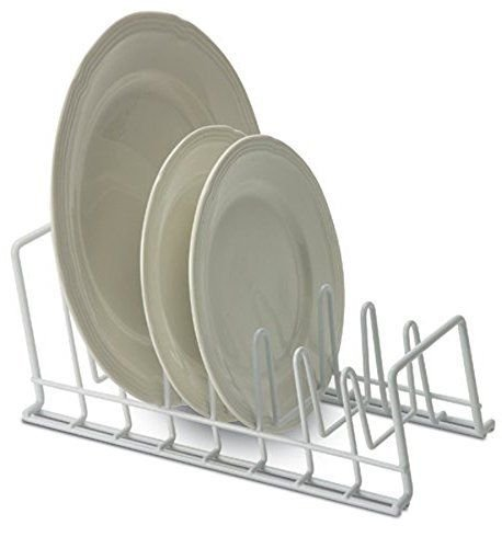 Organize It All Coating Lid Holder, White (Lid Organizer Rack compare prices)