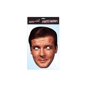 James Bond Mask Pack- 2 Masks- Roger Moore and Daniel Craig