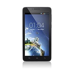 Kazam Trooper² 6.0 Smartphone Bluetooth/Wi-Fi Android 4.2.2 Jelly Bean 4 Go Noir