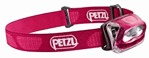 Petzl E91 PF Tikkina 2 Headlamp, French Rose