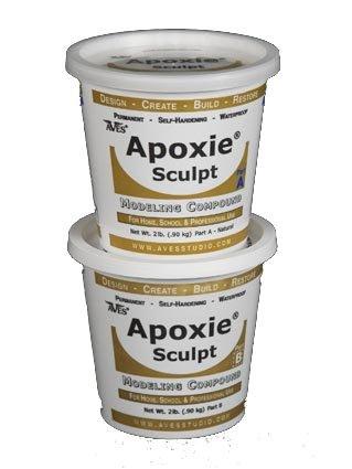 Apoxie Sculpt 4 Lb. Epoxy Clay - Silver Grey front-139432