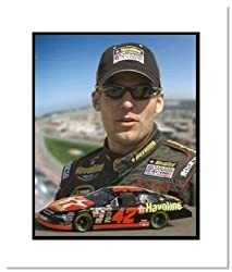 Jamie McMurray NASCAR Auto Racing Double Matted 8x