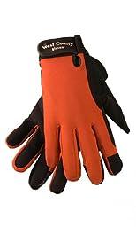 West County 014BRL Women\'s Work Glove, Brick, Medium