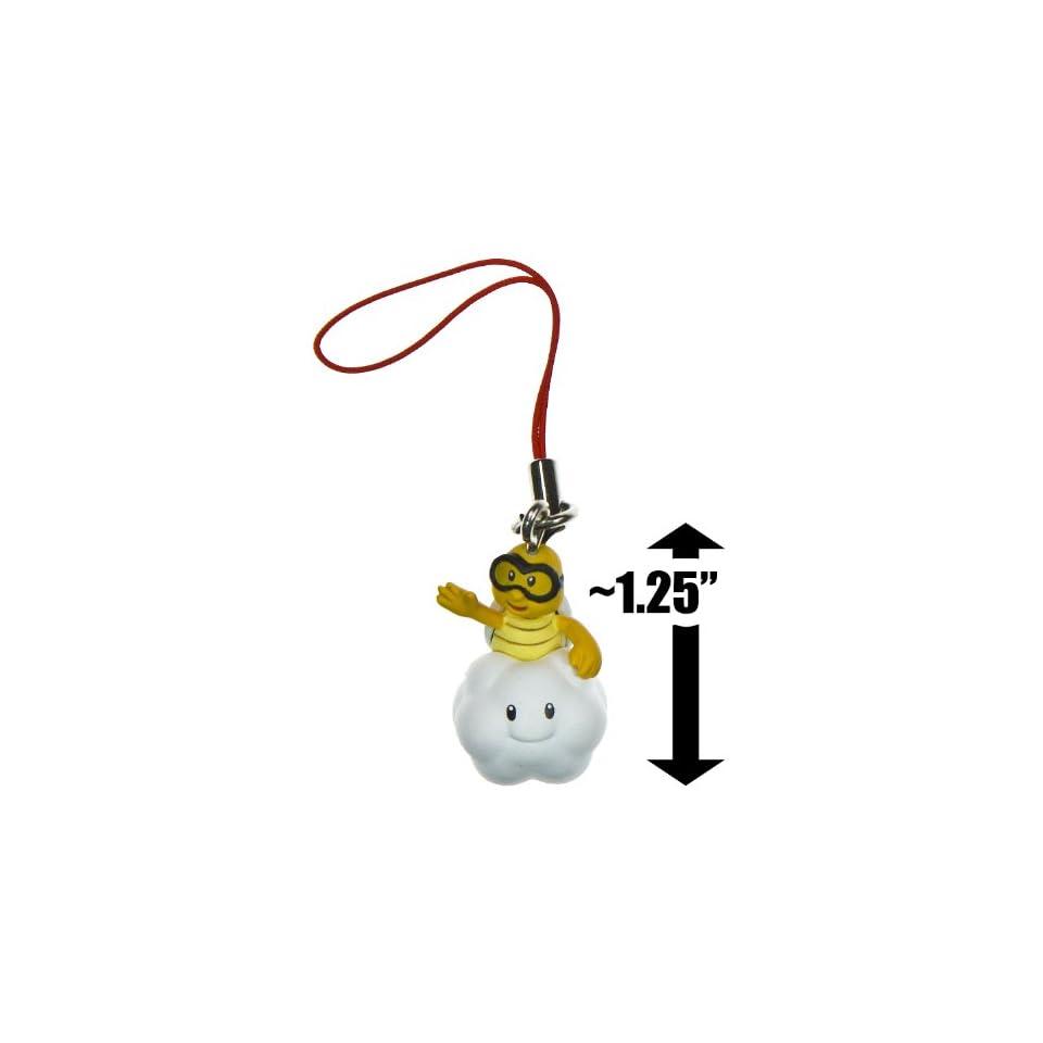 Lakitu ~1.25 Mini Figure Charm New Super Mario Bros Wii Enemy Mascots Series