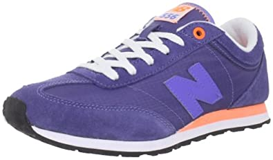 New Balance Women's W556 Lifestyle Running Shoe,Purple/Orange,5 B US