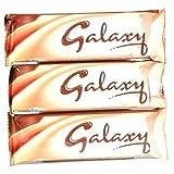 Mars Galaxy Milk Chocolate Bar 46Gr (1.6Oz)-Pack 3 Bars