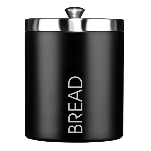 panera-bread-bin-black-colour-enamel-satin-stainless-steel-lid-attractive-and-shine-quality