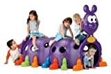 ECR4Kids Happy Caterpillar Climbing Structure