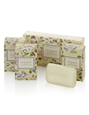 Crabtree & Evelyn® Summer Hill Soap Set 3 x 100g