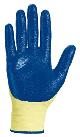 Jackson Safety G60 Nitrile Coated Level 2 Glove, Cut Resistant, Small (Case of 60 Pairs)