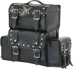 Motorcycle Sissy T Bar Travel Luggage Bags Waterproof