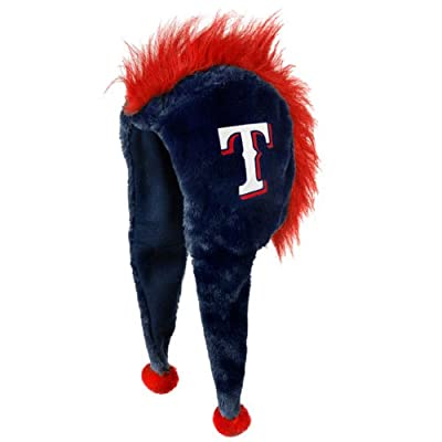 MLB Texas Rangers 2012 Mohawk Short Thematic Hat