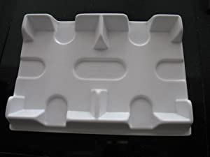Bicycle White Playing Card Tray Made with Extra Strength Durabond Plastic