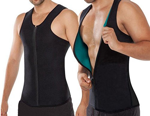 NonEcho-10mm-Neoprene-Mens-Vest-with-Zip-for-Weight-Loss-Muscle-Building-Cardio-Endurance-and-Core-Strength