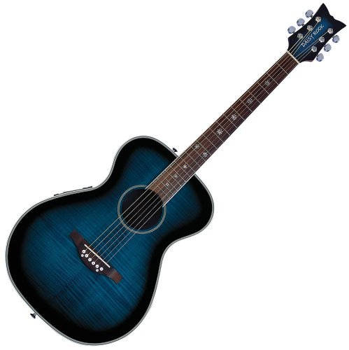 Daisy Rock Pixie Acoustic-Electric Guitar Blueberry Burst