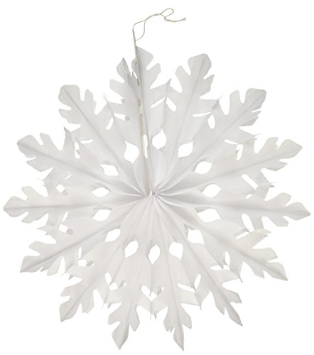 [Beistle 1-Pack White Tissue Snowflakes for Parties, 15-Inch] (Companies Make Dance Costumes)