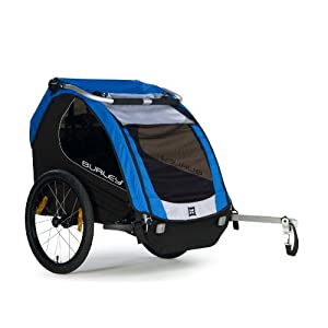Burley Design Encore Bike Trailer Blue