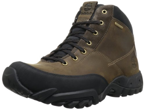 Timberland Men's Rolston Mid WP Waterproof Boot,Dark Brown,9.5 M US