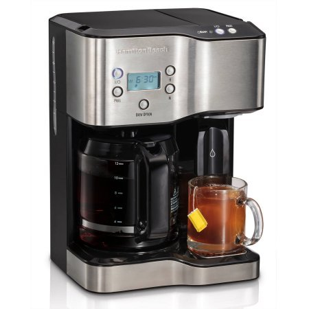 Hamilton Beach 12-Cup Coffeemaker with Hot Water Dispensing and 2-hour Automatic Shutoff (Automatic Coffee Dispenser compare prices)