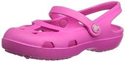 Crocs 11372 Shayna Slingback Sandal (Toddler/Little Kid),Neon Magenta,8 M US Toddler