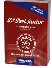 Dr. Perl Junior 9mm Pipe Filters - 100/Box