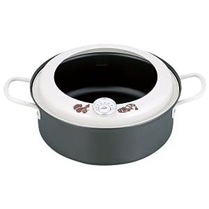 和平フレイズ エコルタ IH対応 温度計付天ぷら鍋 22cm ER-9533