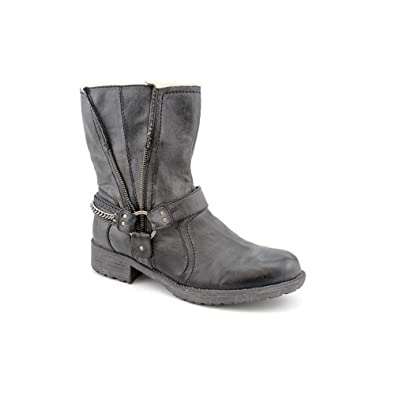 G by Guess Satria Womens Ankle Short Winter Boot Shoe Synthetic Black (7.5)