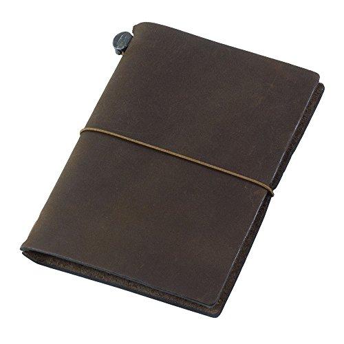 トラベラーズノート traveler's notebook パスポートサイズ 茶 チャ 15027006