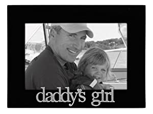 Malden Daddy's Girl Expressions Frame, 4 by 6-Inch