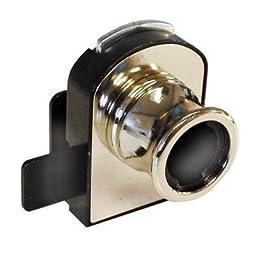 Timberline Double Glass Door Lock Body Non-Bore Cb-371 Nickel Finish