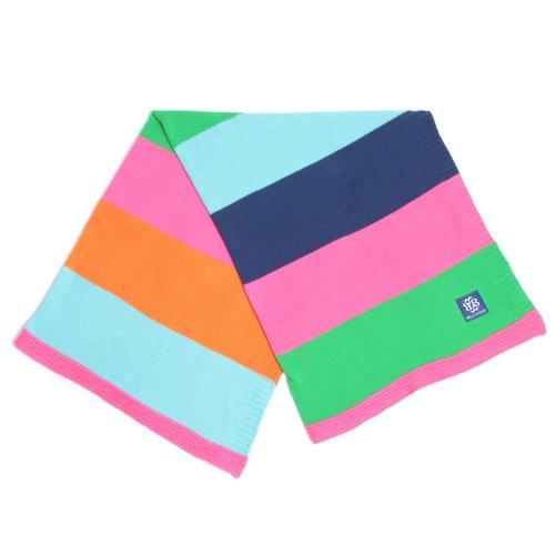 Bella Tunno Stroller Blanket, Show Your Stripes Girl