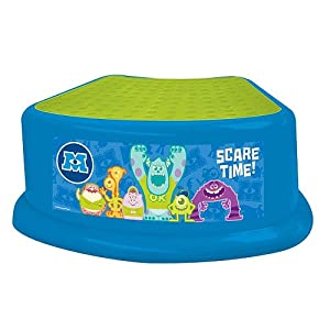 Disney Pixar Monsters University Scare Time Step Stool from Ginsey