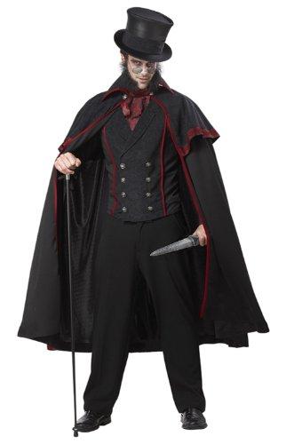 California Costumes Jack The Ripper Set, Black/Red, Medium (japan import)