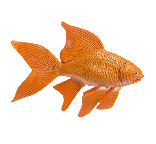 Safari Ltd Incredible Creatures - Goldfish - Realistic Hand Painted Toy Figurine Model - Quality Construction from Safe and BPA Free Materials - For Ages 3 and Up - Large