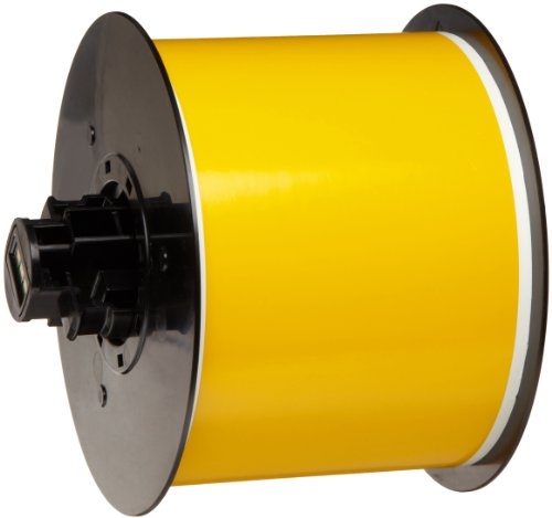 "Brady B30C-3000-595-Yl 100' Length X 3"" Width, B-595 Vinyl, Yellow Bbp31 Indoor/Outdoor Tape back-228379"