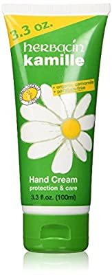 Herbacin Kamille Hand Cream, Paraben Free, 3.3 Fluid Ounce