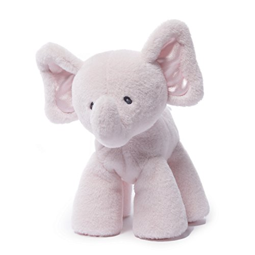 "Gund Baby Bubbles Elephant Plush, Pink, 7.5"""