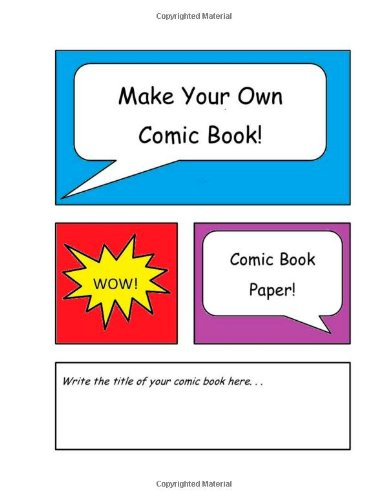 how to start your own comic book