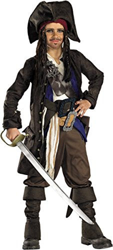 [Disguise Costumes Pirates Of Carribean Capt Jack 14-16] (Homemade Pirate Costumes Womens)