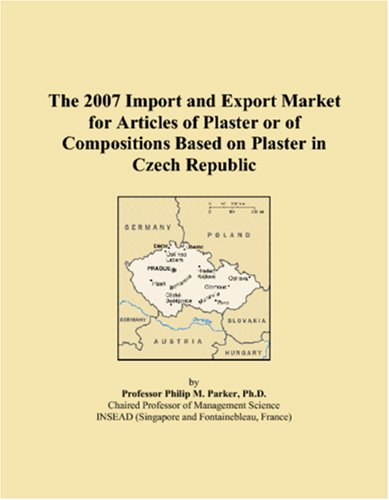 The 2007 Import and Export Market for Articles of Plaster or of Compositions Based on Plaster in Czech Republic