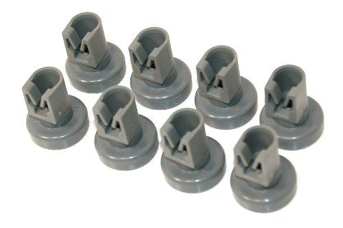 zanussi-dishwasher-grey-upper-basket-wheels-pack-of-8-genuine-part-number-50286967000