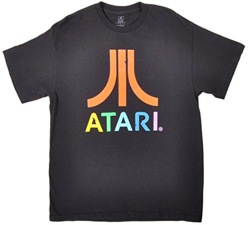 Colorful Atari 80s Gaming T-Shirt - Size XXL