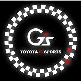 トヨタ アクア カーテシランプ ロゴ G's Gs CREE LED カーテシライト ウェルカムランプ エンブレム マーク _59598a